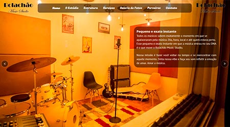 Site Bolachão Music Studio